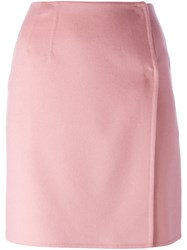 Ermanno Scervino Wrap Short Skirt Pink And Purple