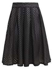 Wal G. Pleated Skirt Black