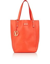 Just Cavalli Women's Leather Tote Red