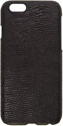 Paul Smith Black Leather Embossed Tejus Iphone 6 Case