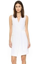 Theory Livwilth Dress Eggshell