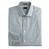 J.Crew Tall Ludlow Spread Collar Shirt In Bicolor Gingham River Valley