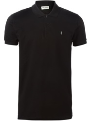 Saint Laurent Classic Polo Shirt Black