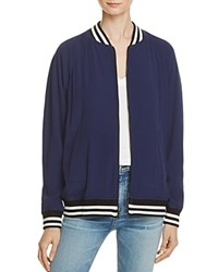 Rebecca Minkoff Infinity Bomber Jacket 100 Bloomingdale's Exclusive Navy Fountain Blue
