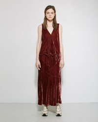 Visvim Dinner Dress Burgundy