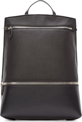 Alexander Wang Black Leather Neoprene Explorer Backpack