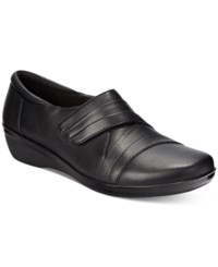 Clarks Collection Women's Everlay Tara Flats Women's Shoes Black