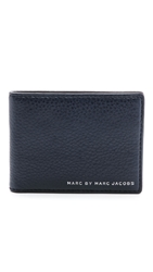 Marc By Marc Jacobs Martin Wallet Blue Grey