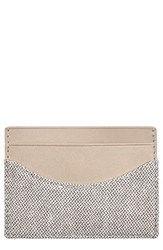 Skagen Men's 'Torben' Card Case Grey Heather