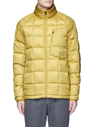 Burton 'Bk' Down Puffer Jacket Yellow