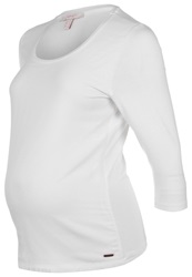Esprit Maternity Long Sleeved Top Pastel Grey White