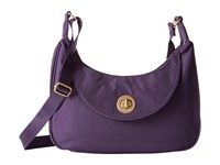 Baggallini Gold Oslo Small Hobo Grape Hobo Handbags Purple