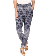 Mavi Jeans Harem Pants Dress Blue Printed Women's Casual Pants Gray