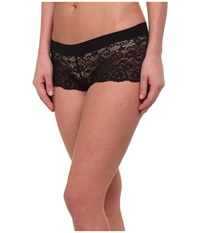 Commando Double Take Boyshorts Bs04 Black Women's Underwear