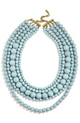 Baublebar Women's 'Globe' Multistrand Beaded Necklace Light Blue