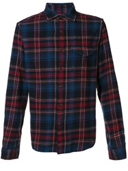 Alex Mill 'Cabin' Plaid Flannel Shirt Red