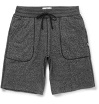 Reigning Champ Loopback Cotton Blend Jersey Shorts Black