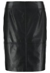 Comma Mini Skirt Black