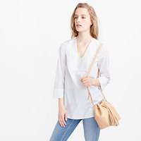 Pre Order Thomas Mason For J.Crew Scoopneck Tunic In White