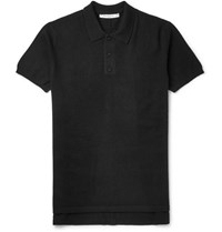 Givenchy Columbian Fit Cashmere Polo Shirt Black