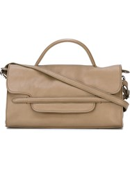 Zanellato Small 'Nina' Tote Nude And Neutrals
