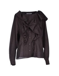 Viktor And Rolf Shirts Dark Brown