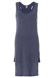 Bench Scandal Summer Dress Deep Cobalt Marl Mottled Blue