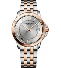 Raymond Weil 5591 Sb5 00658 Tango Stainless Steel And Rose Gold Plated Watch