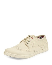 Ben Sherman Nick Canvas Oxford Off White