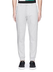 Mcq By Alexander Mcqueen Logo Embroidered Patch Sweatpants Grey