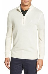 Ag Jeans Men's Ag 'Baker' Trim Fit Wool And Cashmere Half Zip Sweater