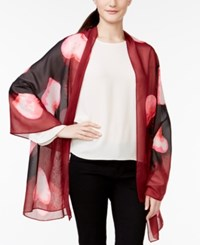 Styleandco. Style And Co. Watercolor Heart Wrap Only At Macy's
