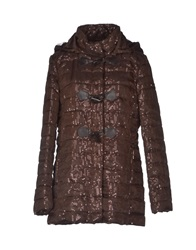 Toy G. Mid Length Jackets Cocoa