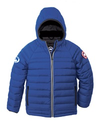 Canada Goose Sherwood Hooded Puffer Jacket Royal Blue Size Xs 6 7 Xl 12 14