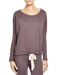 Eberjey Heather Slouchy Tee Molasses