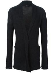 Lost And Found Ria Dunn Long Cardi Coat Black