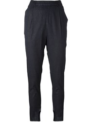 Kristensen Du Nord Tapered Trousers Blue