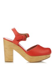 Rachel Comey Dekalb Leather Platform Sandals
