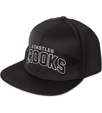 Crooks And Castles Candc Athletic Snapback Cap Black