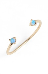 Wwake 'Counting Collection Two Step' Opal Ring Yellow Gold