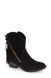 Report Signature 'Von' Bootie Women Black Suede