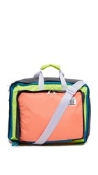 Mokuyobi Bedford Convertible Backpack Coral Aqua