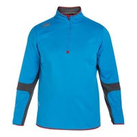 Canterbury Of New Zealand Thermal Quarter Zip Running Top Blue