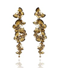 Annoushka Butterflies Chandelier Earrings Female Gold