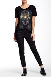 The Kooples Leather Style Jean Black