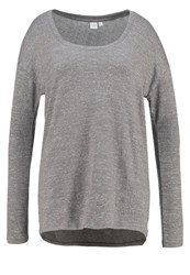 Gap Jumper Charcoal Grey Mottled Dark Grey