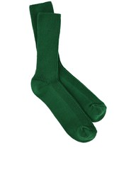 Etoile Isabel Marant Green Knitted Waris Ankle Socks
