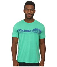 Icebreaker Tech T Lite S S Viridian Men's Short Sleeve Pullover Green