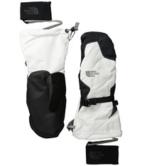 The North Face Montana Mitt Tnf White Extreme Cold Weather Gloves Multi