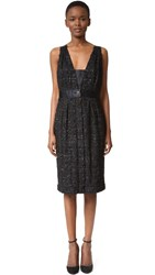 Wgaca Chanel Dress Previously Owned Black
